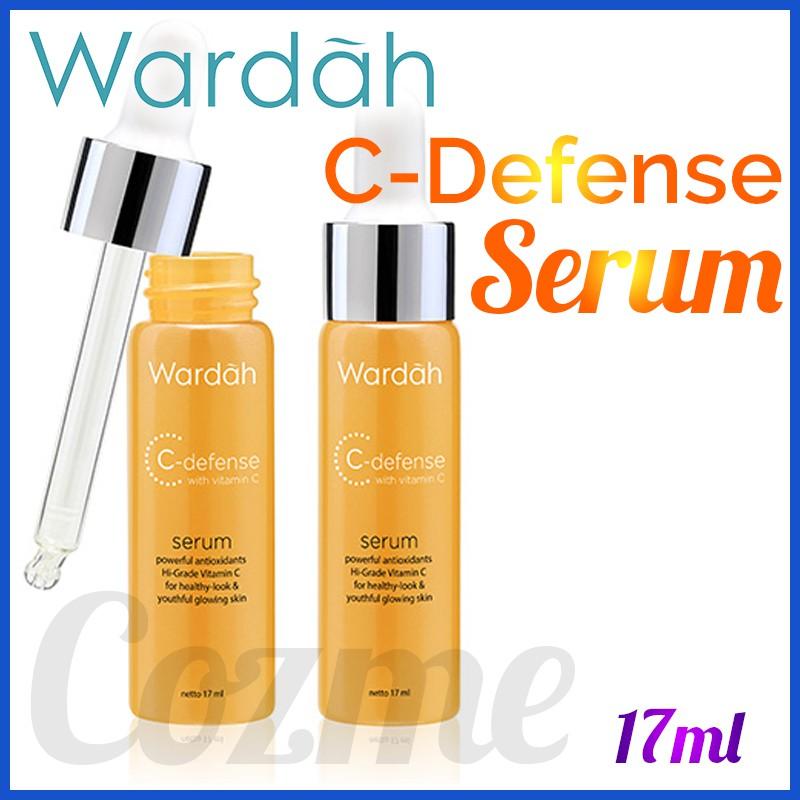 Wardah C Defense Serum 17ml Shopee Indonesia