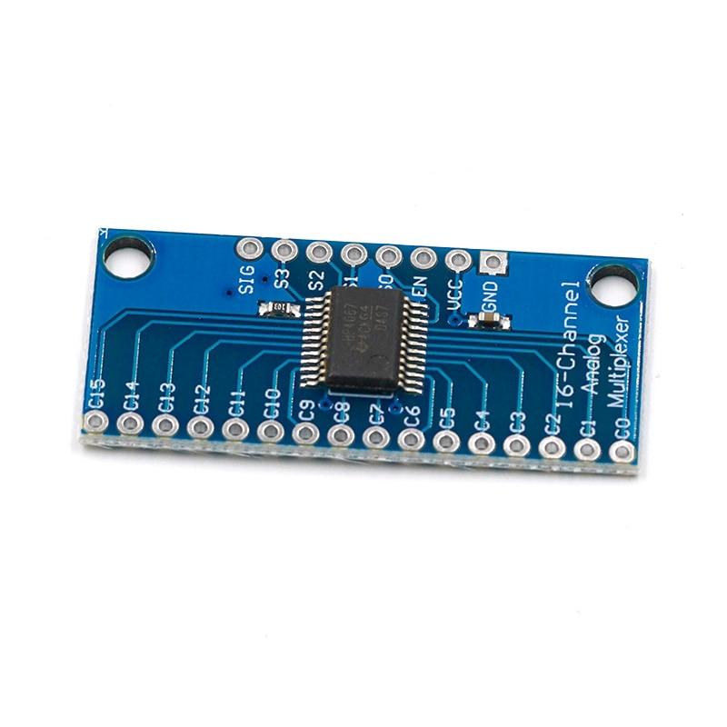 1PCS 16CH Analog Digital MUX Breakout Board CD74HC4067 Precise module