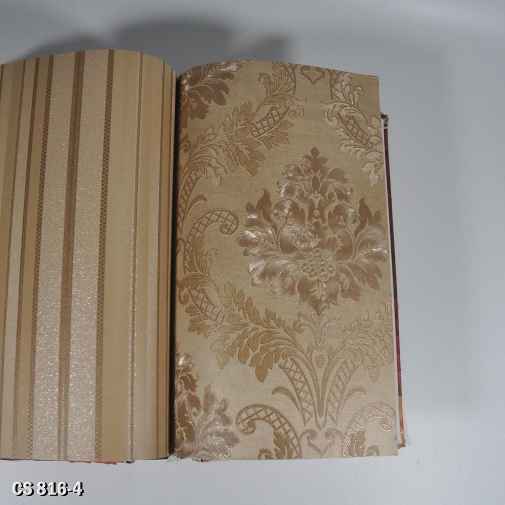 Wallpaper Dinding Impor Motif Klasik Elegan Bertekstur Dan Timbul