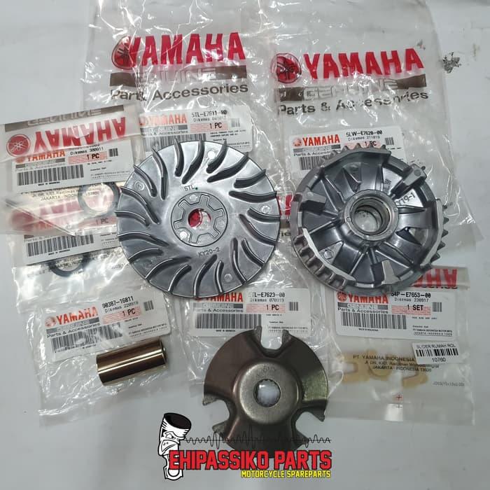 Paket CVT Mio Sporty Mio Soul Nouvo Fino old Original Yamaha (Kode 008))