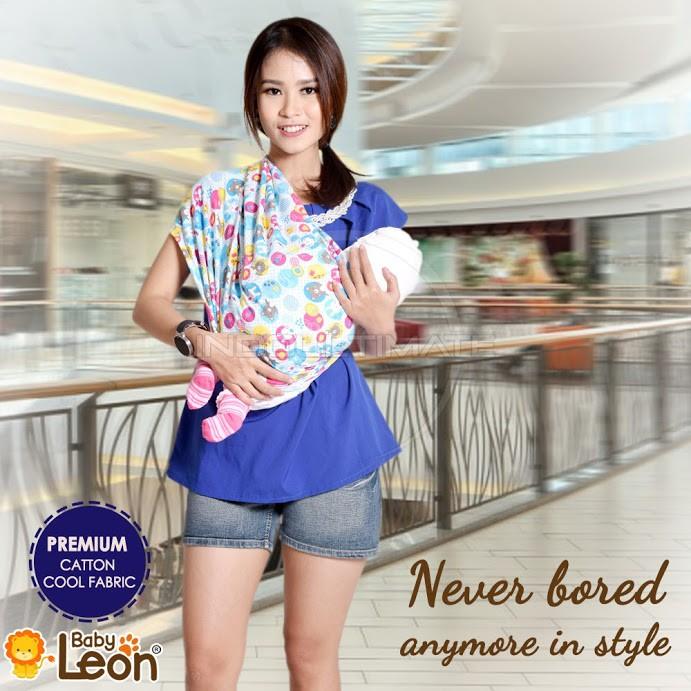 PREMIUM BABY LEON Gendongan Bayi Kaos COTTON BY48-MOTIF / Gendongan kaos Geos gendongan bayi baby | Shopee Indonesia