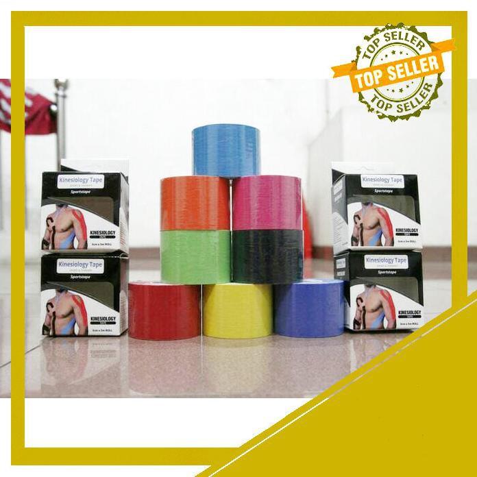 Kinesio Tape / Tapping / Kinesiology Tape 5cm x 5m TERMURAH FV-067 | Shopee