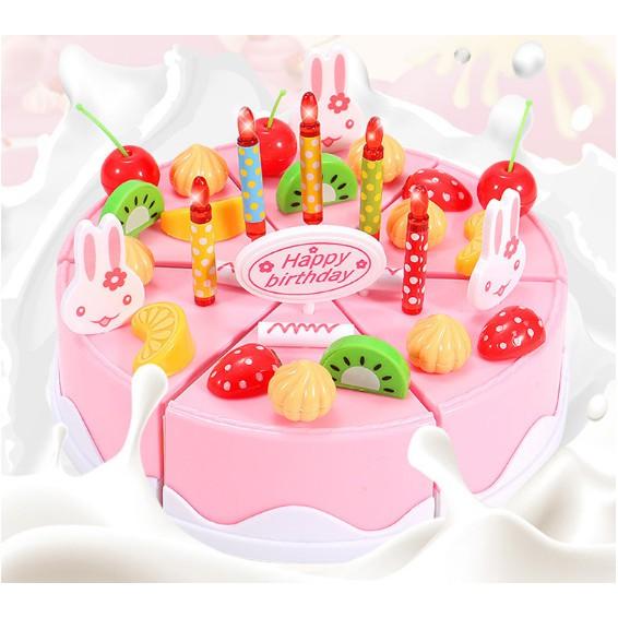 Dunia Anak Mainan Anak Mainan Kue Ulang Tahun Mainan Masak Masak Mainan Dapur Diy Cake Shopee Indonesia
