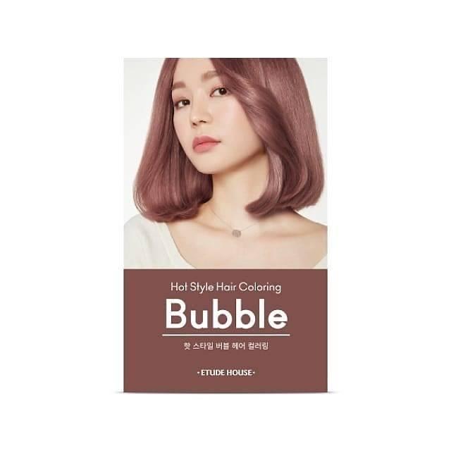 Etude House Hot Style Hair Coloring Bubble 10pk Pink Hazelnut Shopee Indonesia