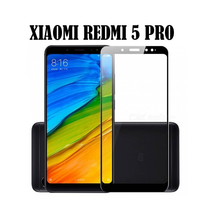 Tempered Glass Xiaomi Redmi Note 5 Pro Anti Gores Kaca | Shopee Indonesia