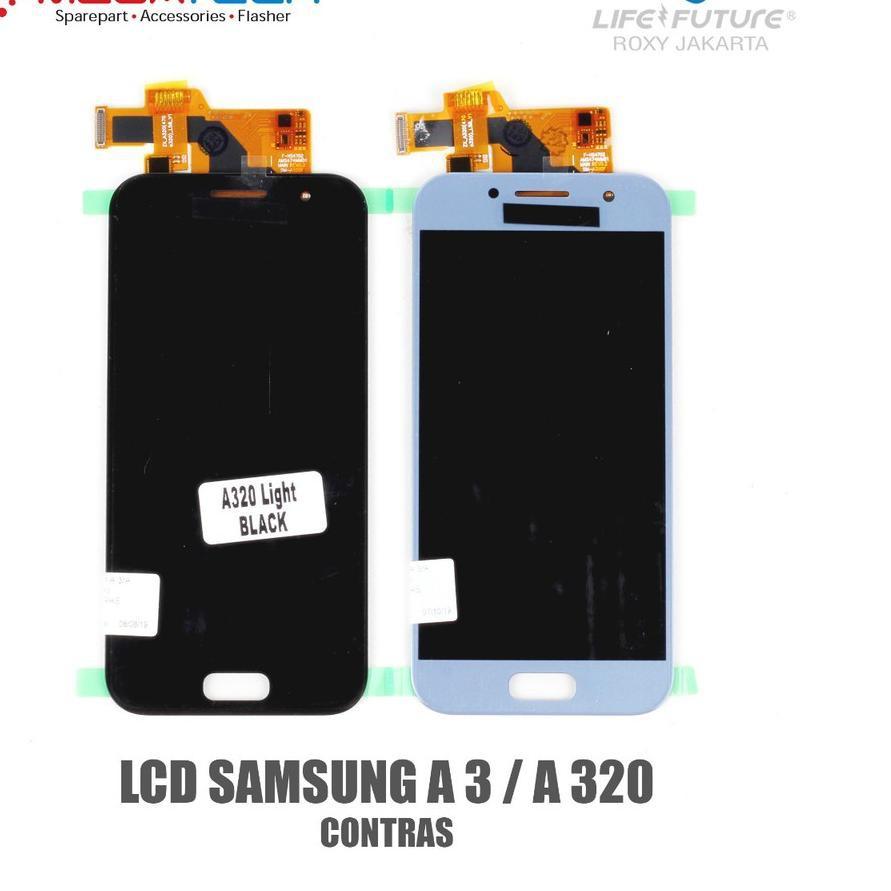 LCD Samsung A3 / LCD Samsung Galaxy A3 / A 320 2017 Fullset Touchscreen