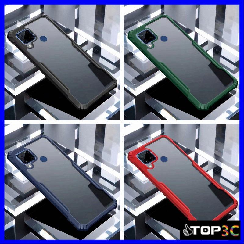 Kualitas Tinggi Case Oppo A53 2020 Realme C15 C12 Super Tahan Jatuh Realmec12 C11 6 C1 C3 5i 5 Pro Transparan Hard Silikon Anti Crack Casing Kasing Df Shopee Indonesia