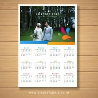 Kalender Tahun baru 2021 custom bisa photo min order 10 ...