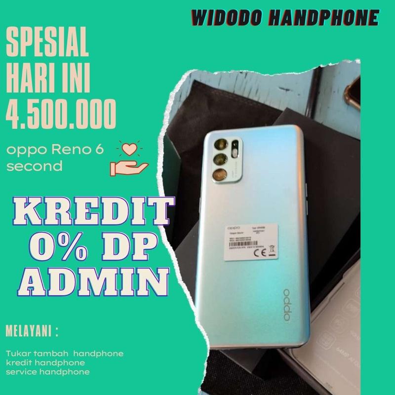 promo      Oppo reno 6 second