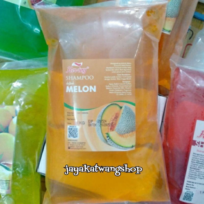 HEVINY Shampoo Refill 1000 ML / 1 KG-Melon