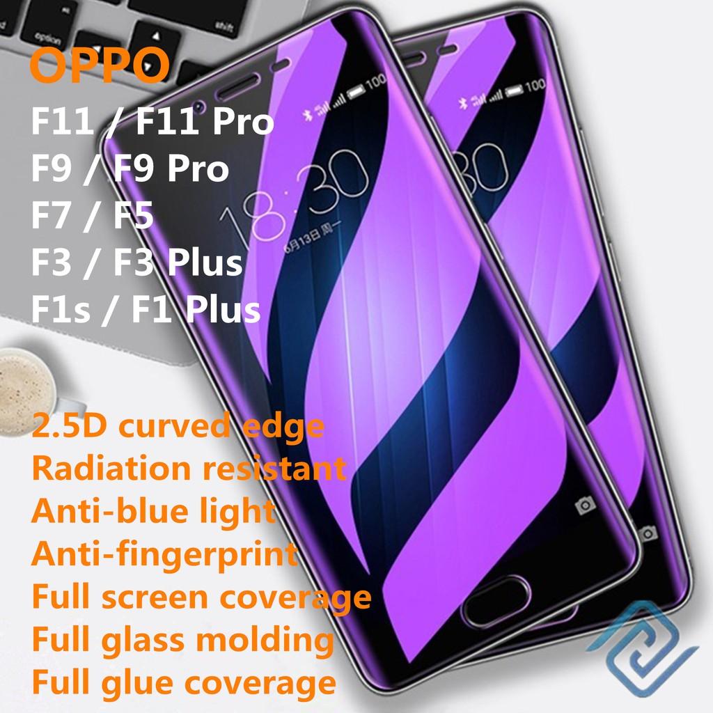 Screen Guard Anti Retak untuk Oppo F11 F9 Pro F7 F5 F3 F1 Plus F1s