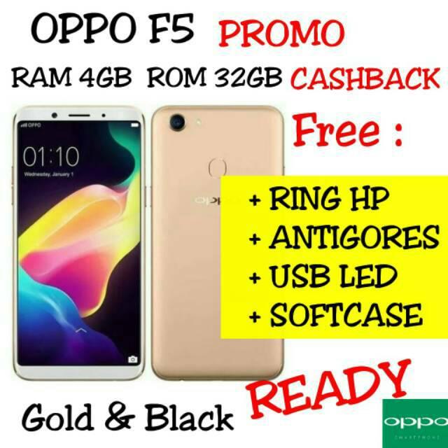 Oppo F5 Pro - 6 64 (6GB 64GB) - Red - Baru NEW - Resmi  fa69abc229485