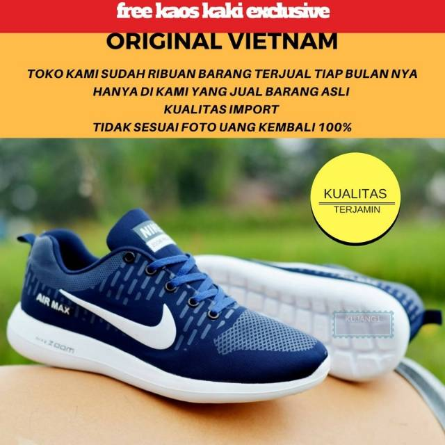Sepatu Olahraga Pria Nike Free Zoom Pegasus 3.0 Man Import Lari Running  8bdd4b191d