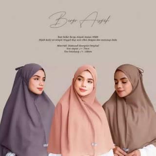 Jilbab Bergo Maryam Ujung Jahit Picot Shopee Indonesia