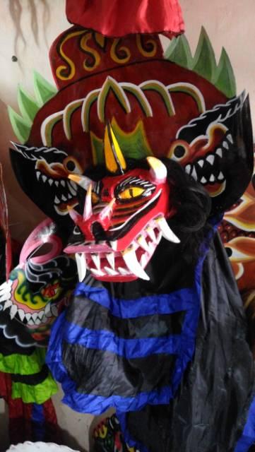 Barongan Devil Barongan Devil Anak Sedang