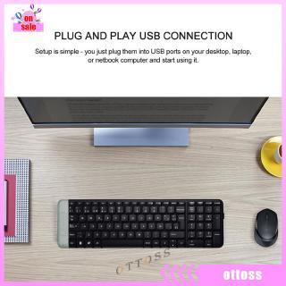 Logitech k230 Keyboard Wireless 2 4GHz untuk PC / Rumah / Kantor