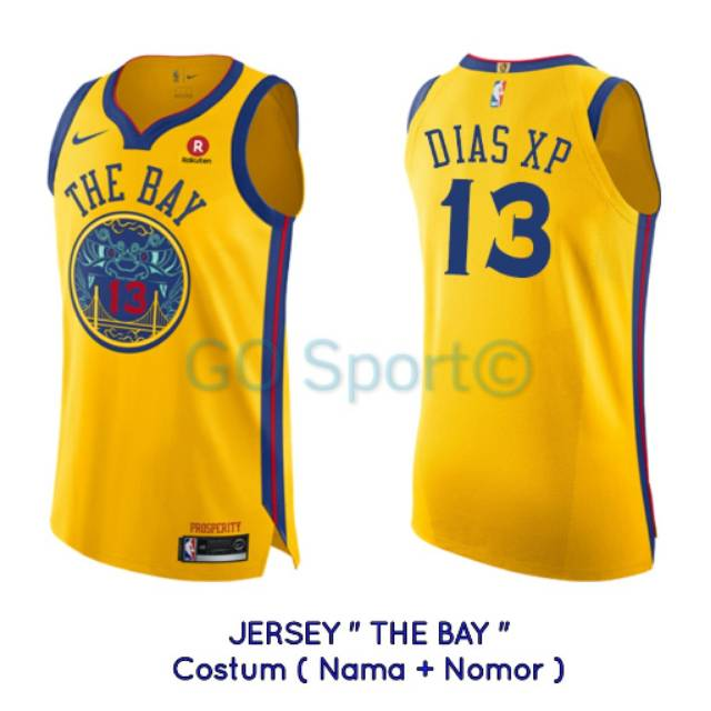 12a46e65b JERSEY BASKET NBA GOLDEN STATE WARRIORS THE BAY CITY EDITION  35 KEVIN  DURANT NAVY