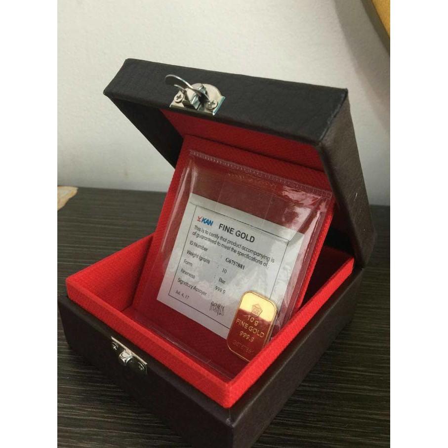 Big Sale Kotak Perhiasan Emas Batangan Antam Biru Terlengkap