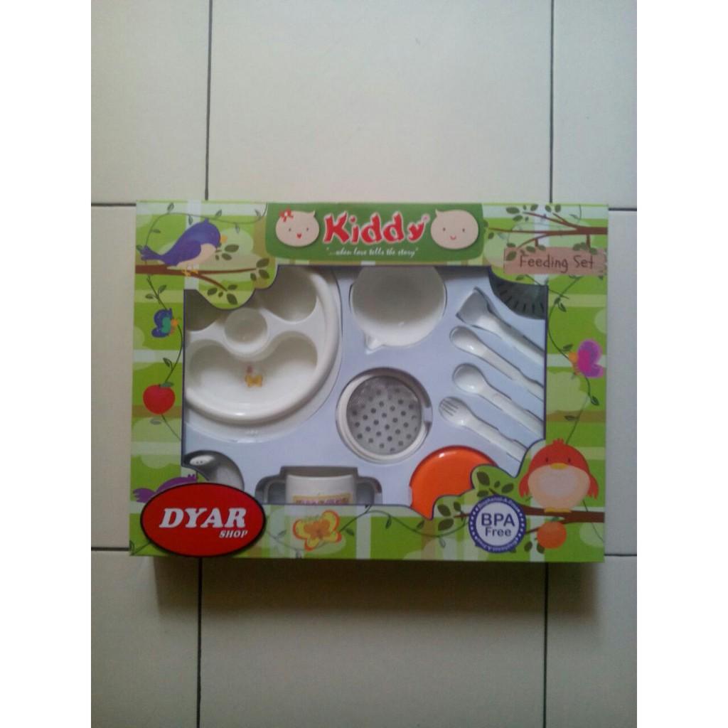 Kiddy Feeding Set And Multifunctional Food Maker Tempat Makan Bayi Kado Gift Shopee Indonesia