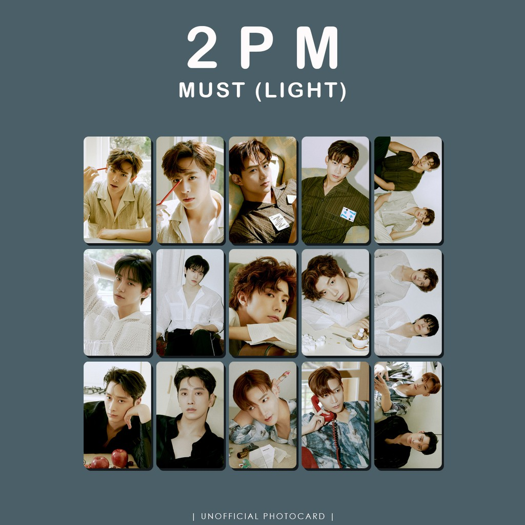 Photocard 2PM Must