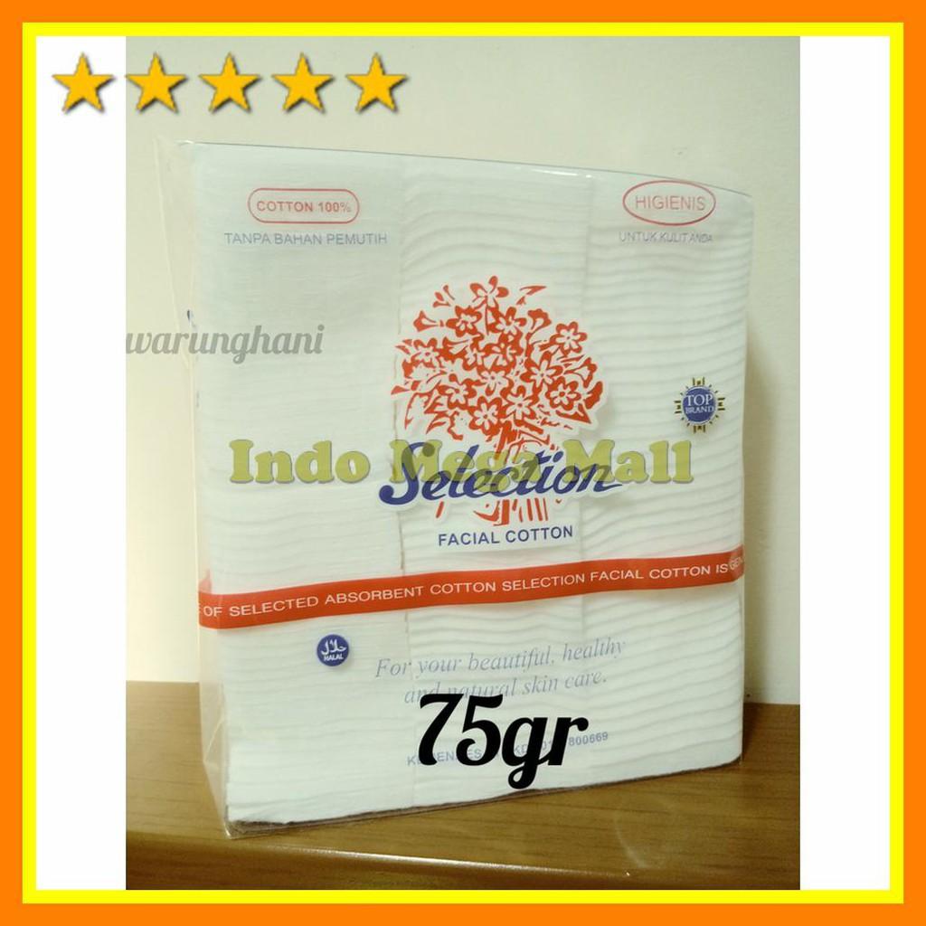 Selection Facial Cotton 75gr Daftar Harga Terkini Dan Terlengkap Kapas Kecantikan 35g