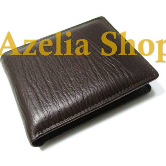 Dompet kulit pria asli sapi murah kartu lipat premium casual simpel simple pendek motif  jeruk garut  831afe7927