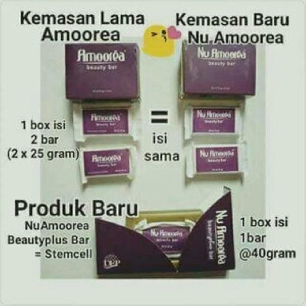 Sabun Nu Amoorea Plus Stemcel Ecer 1bar Terlaris Shopee Indonesia Beauty 15gr Ori Asli Glowing Pt Dep Ungu