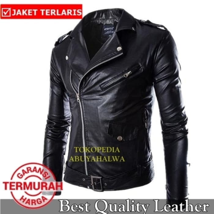 Jaket Kulit Sintetis Punk Rock N Roll RMNS01 SEMIKULIT - PU LEATHER ... 3dcf812179