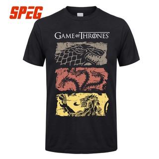 Game Of Thrones All Houses T Shirt Stark Targaryen Arya Lannister Men Ladies Top