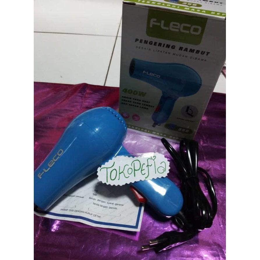 Hair Dryer Fleco Hairdryer Murah Pengering Rambut Mini 258 Hairdrayer Lipat Drayer Termurah 500gr Shopee Indonesia