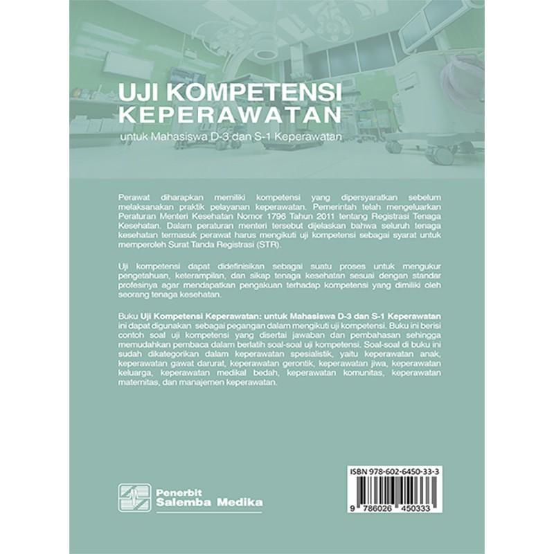 Uji Kompetensi Keperawatan Untuk Mahasiswa D 3 Dan S 1 Keperawatan Dherliron Dkk Shopee Indonesia