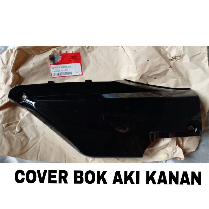 Cover Box Aki Kanan supra X , supra fit lama, supra lama