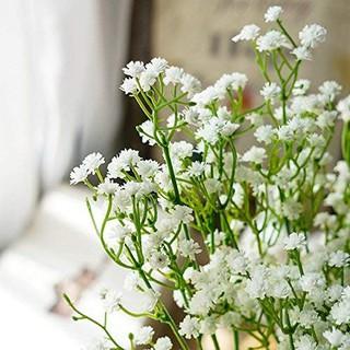 bunga hias plastik artificial baby breath dekorasi rumah