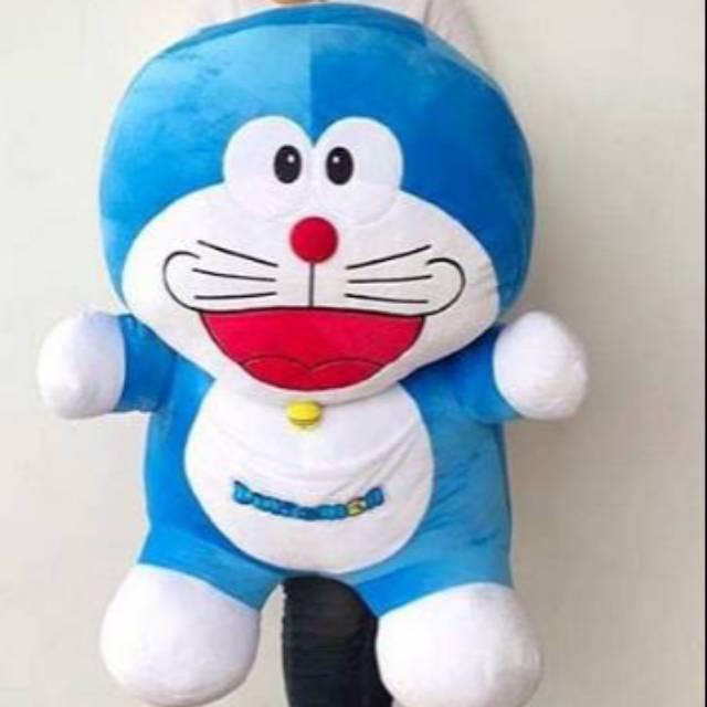 Boneka Doraemon Jumbo Boneka Boneka Dora Emon Mainan Shopee Indonesia
