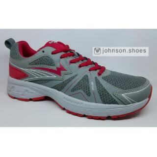 Sepatu Running   Lari   Olahraga EAGLE - STING Grey Red ORIGINAL ... 5dc37d99d9