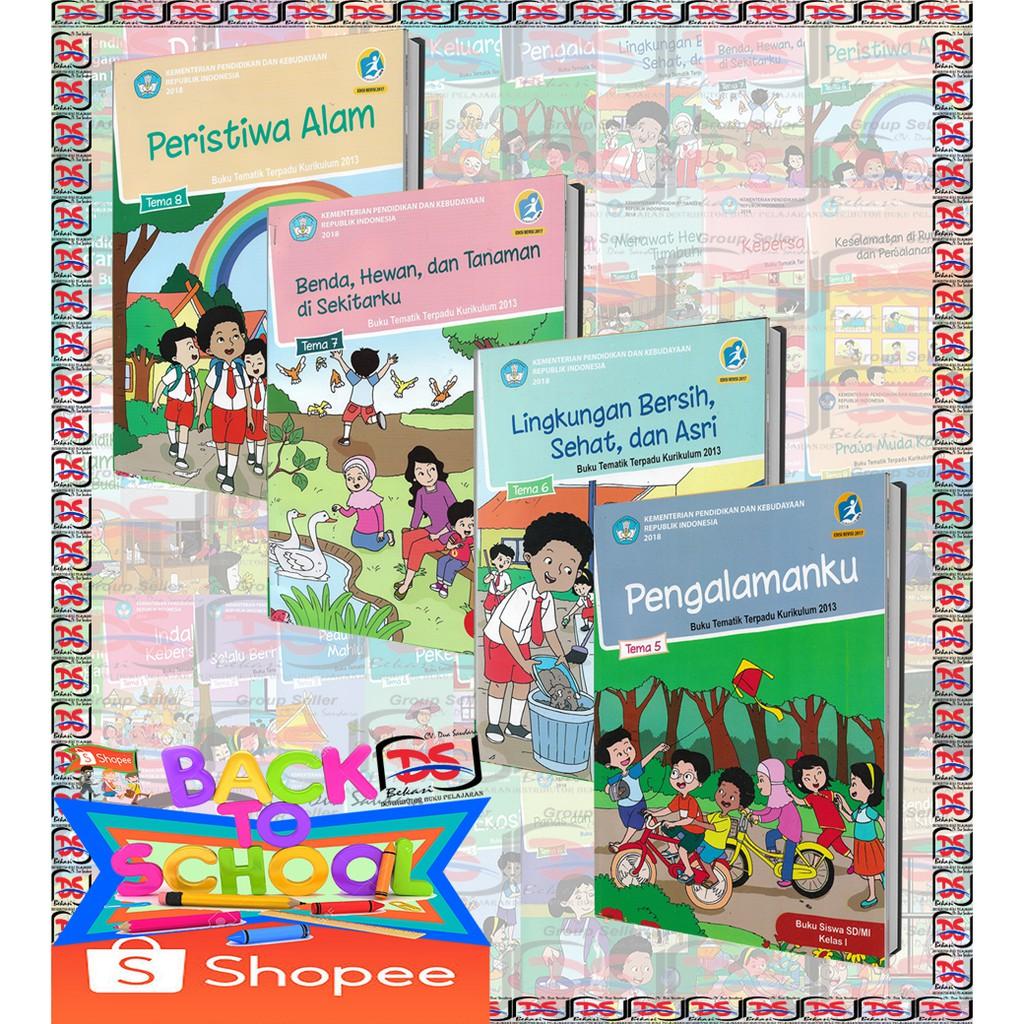BUKU SISWA Kelas 1 SD PAKET Tematik Semester 2 Tema 5-6-7 ...