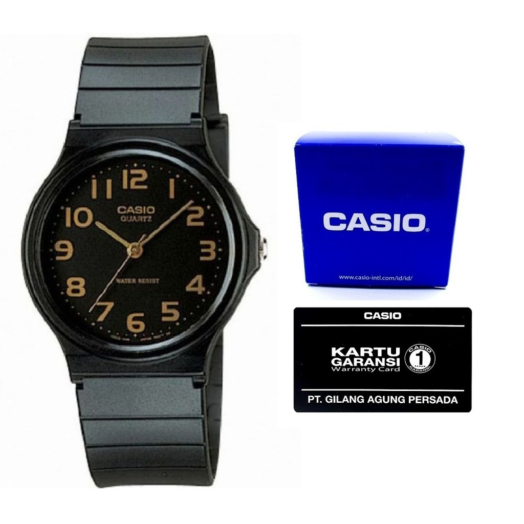 Casio Original (ready all variasi) MQ24-1B2 - GARANSI