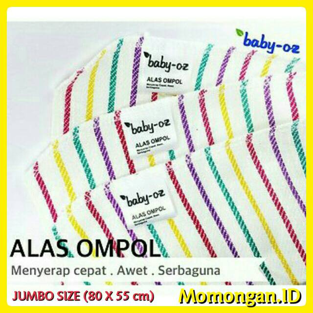 6pc Pernel Bayi Alas Ompol Badong Kain 90x90 dan 90x110cm | Shopee Indonesia