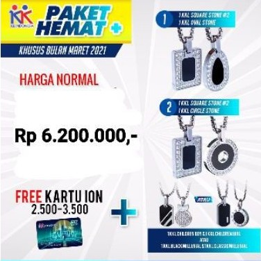 Hemat Plus 4 KK Liforce + kartu ion