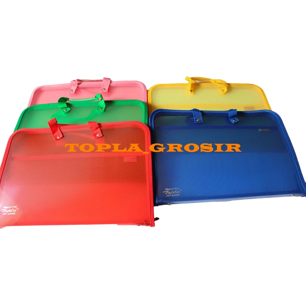 Pocket File Jala Zipper Bag Big 9003 Uk A5 Shopee Indonesia Bambi Pockets Wallets 5137