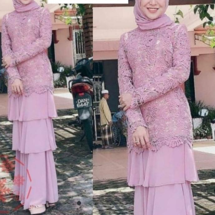 Baju Gamis Muslim Terbaru 2020 2021 Model Baju Pesta Wanita kekinian Bahan Velvet Kondangan remaja!!