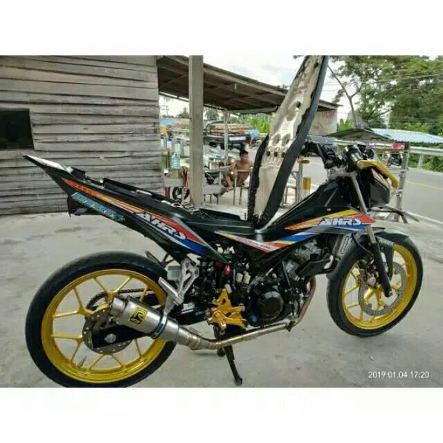 Knalpot Rcb Road Race Sonic Satria Fu Supra Gtr Mx King Mx New Gsx Vixion Cb 150r R15 Dll Shopee Indonesia