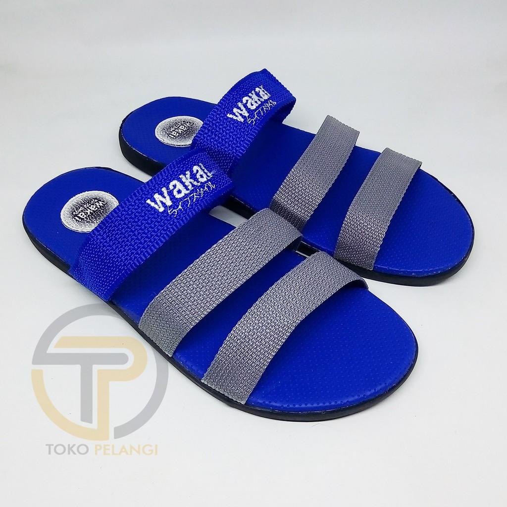 Sendal Sandal Adidas Pria Slipon Flat Murah Karet Anti Air Shoes Wanita Kerja Kanvas Lukis  Px Style Suster Jellyshoes Shopee Indonesia