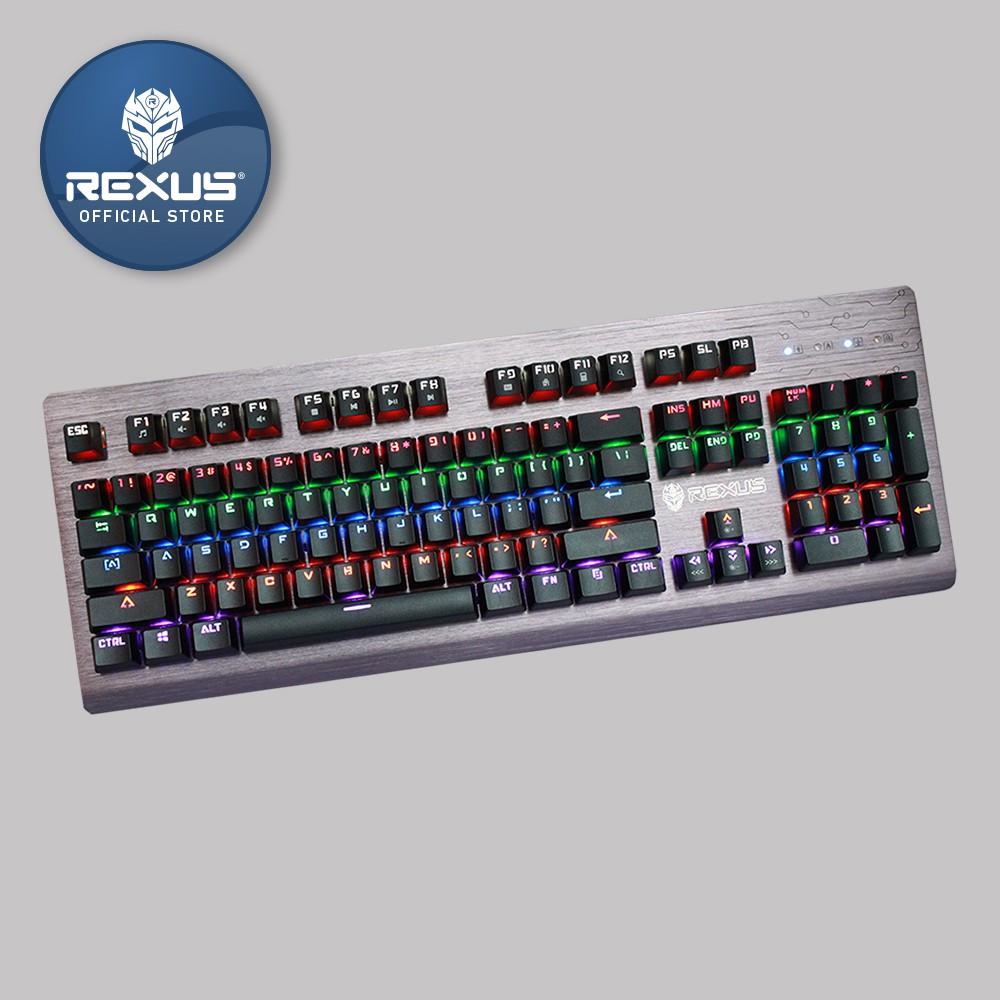 Keyboard Gaming Rexus K9TKL/K9-TKL Backlit Fortress Battlefire | Shopee Indonesia