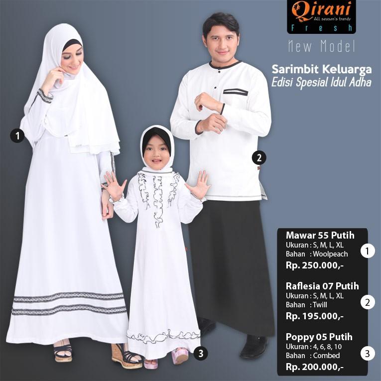 Sarimbit Keluarga Qirani Fresh 2   Couple Busana Muslim  b41548fd2c