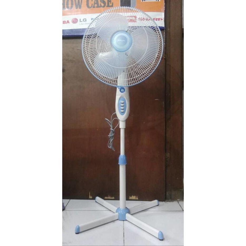 Cosmos Kipas Angin Berdiri Stand Fan 2in1 16 Inch Sbi 2 In 1 Shopee Indonesia