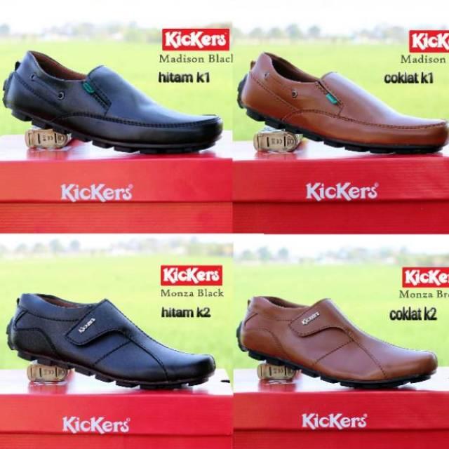 Sepatu Kickers maximus casual   kickers slop pria  slip on loafers   sepatu  kerja   casual santai.  f6ee8fce4c
