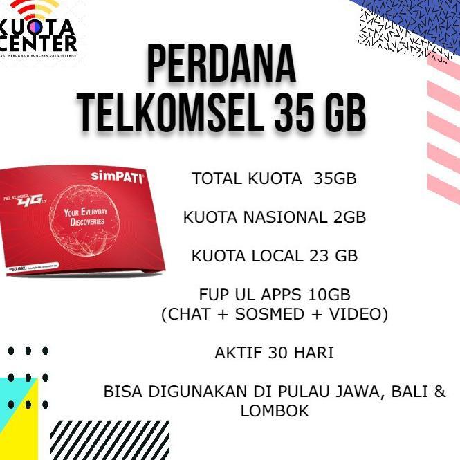 TERBARU 9.9SP TELKOMSEL 35 GB