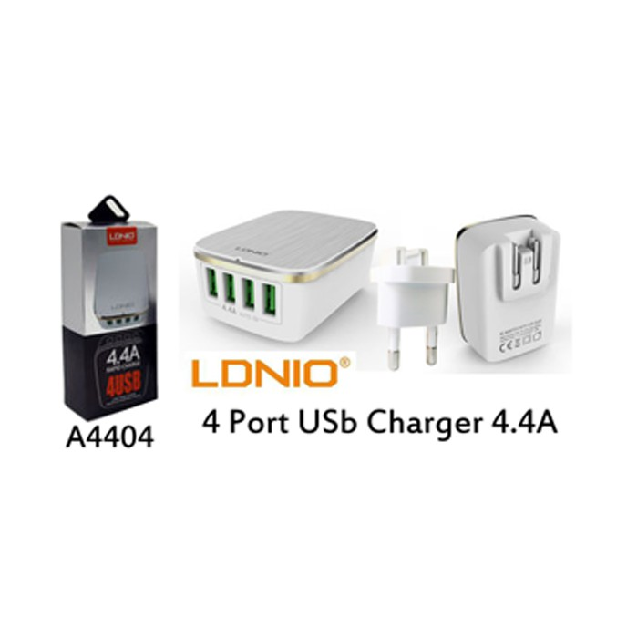 Orico Usb Wall Travel Charger Hub 4 Port - Dch-4U - Black | Shopee Indonesia