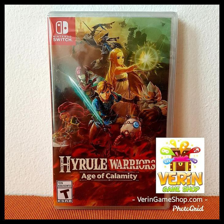 Banting Harga Switch Hyrule Warriors Age Of Calamity Hyrule Warrior Shopee Indonesia